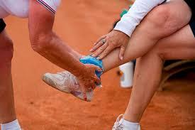 Tennisblessure