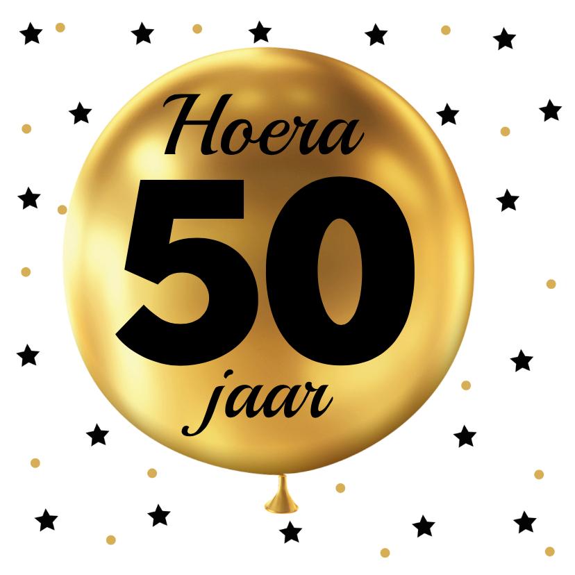 felicitatie 50 jaar felicitatie 50 jaar ballon goud | Rijnhuyse felicitatie 50 jaar