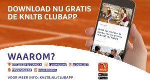 Foto in de KNLTB club-app