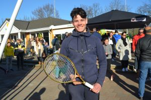 Gouden Racket Dario voor sportiviteit