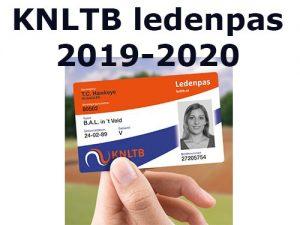 KNLTB tennispas Rijnhuyse
