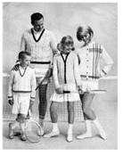 witte tenniskleding