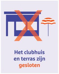 clubhuis gesloten Rijnhuyse