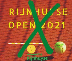 Geen Rijnhuyse Open 2021